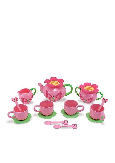 Melissa & Doug® Bella Butterfly Tea Set