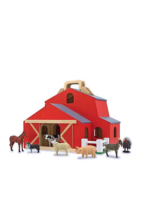 Melissa & Doug® Fold N Go Barn-Online Only