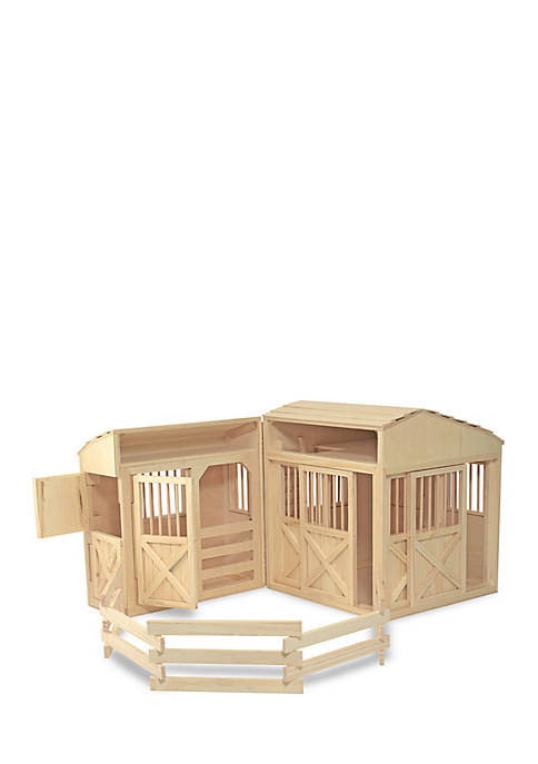 Melissa & Doug® Folding Horse Stable Set
