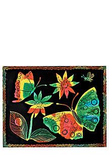 Multicolored Scratch Art