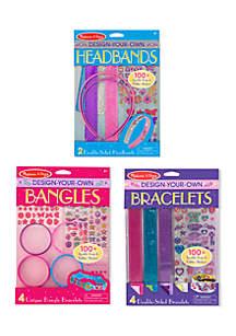 Bracelets, Headbands and Bangles - Girls' Accessories Bundle