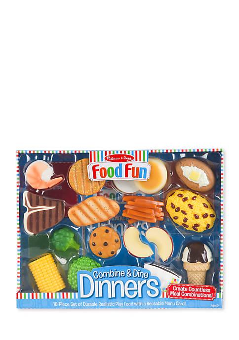 Melissa & Doug® Food Fun Combine Dine Dinners