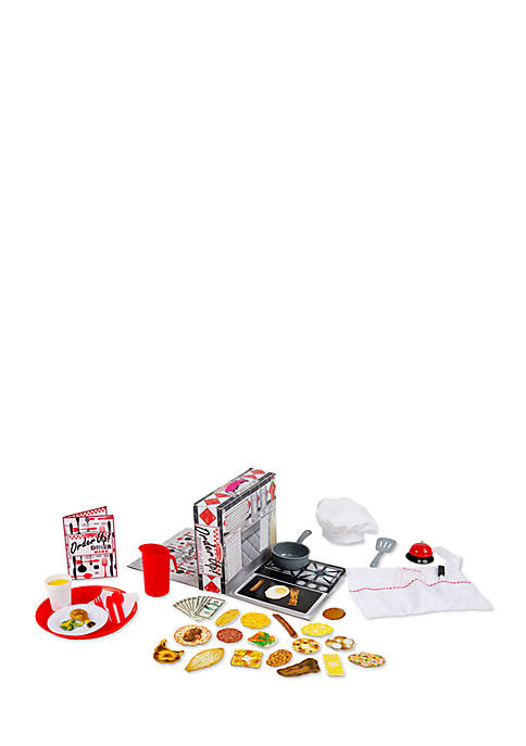 Melissa & Doug® Order Up! Dinner Play Set