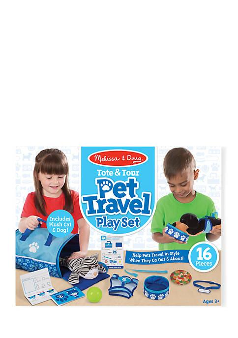Tote & Tour Pet Travel Play Set
