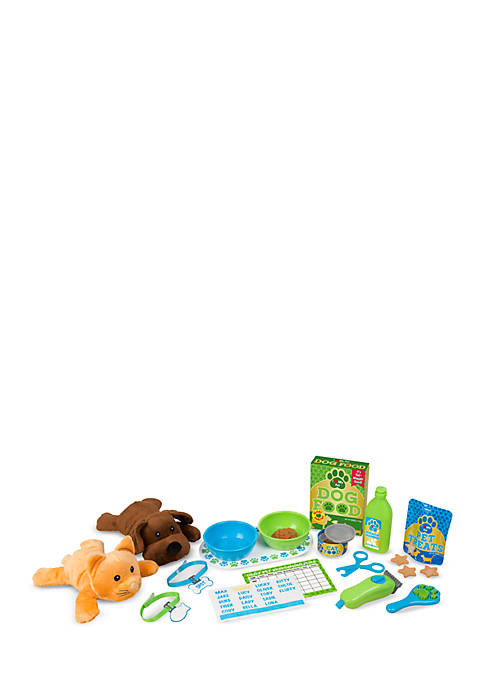 Melissa & Doug® Feeding Grooming Pet Care Play