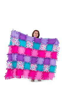 Melissa & Doug® Created by Me - Flower Fleece Quilt