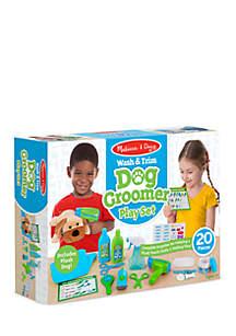 Wash & Trim Dog Grooming Play Set