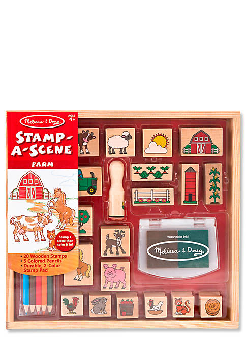 Stamp A Scene Farm - Online Only