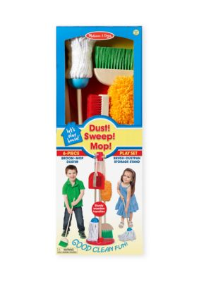 Melissa Doug Lets Play House! Dust, Sweep And Mop