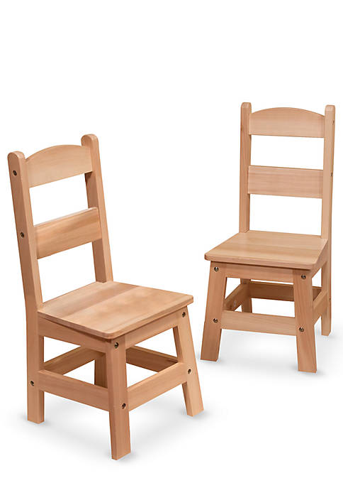 Melissa & Doug® Hardwood Kids Chairs