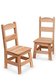 Hardwood Kids' Chairs