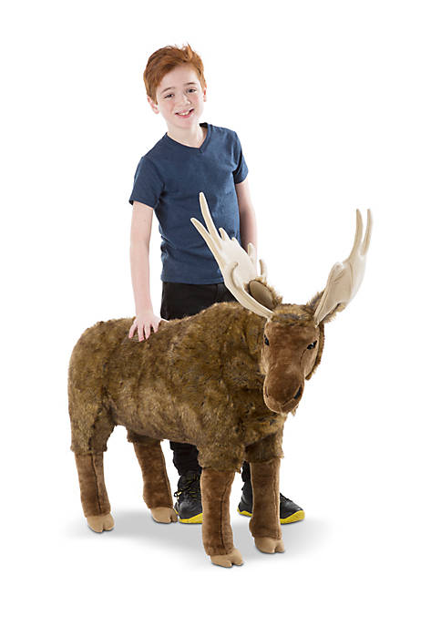 Melissa & Doug® Moose Plush