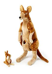 Melissa & Doug® Kangaroo N Joey Plush - Online Only