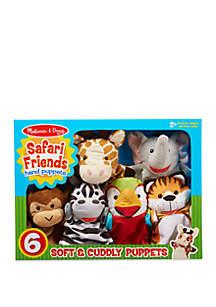 Safari Puppet Set