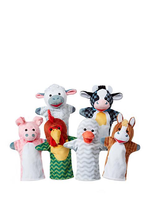 Melissa & Doug® Barn Buddies Hand Puppets 6