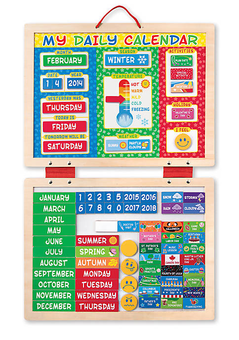 Melissa & Doug® First Daily Magnetic Calendar