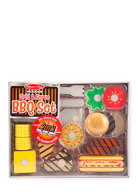 Melissa & Doug® Grill And Serve BBQ Set