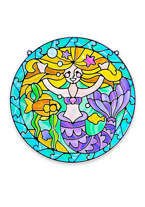 Stained Glass Mermaid