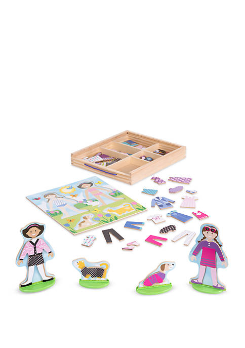 Melissa & Doug® Best Friends Magnetic Dress Up