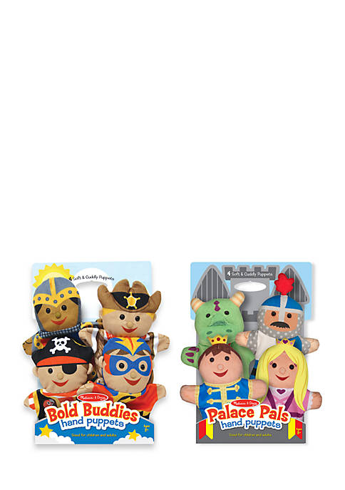 Melissa & Doug® Hand Puppet Adventure Bundle