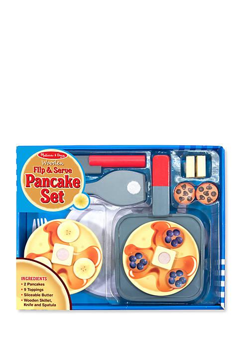 Wood Flip Pancake Set-Online Only