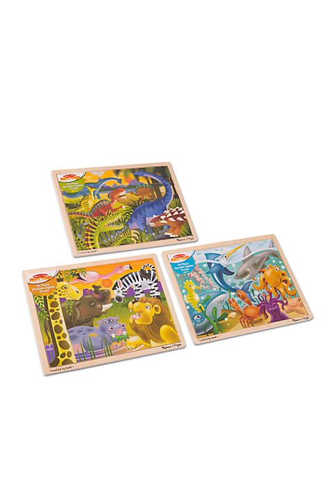 Melissa & Doug® Bundle Dinosaur Safari and Ocean