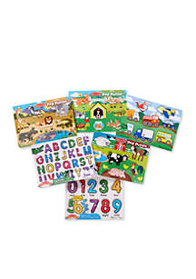 Melissa & Doug® Peg Puzzle Set