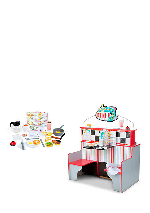 Melissa & Doug® Lets Play Diner Bundle