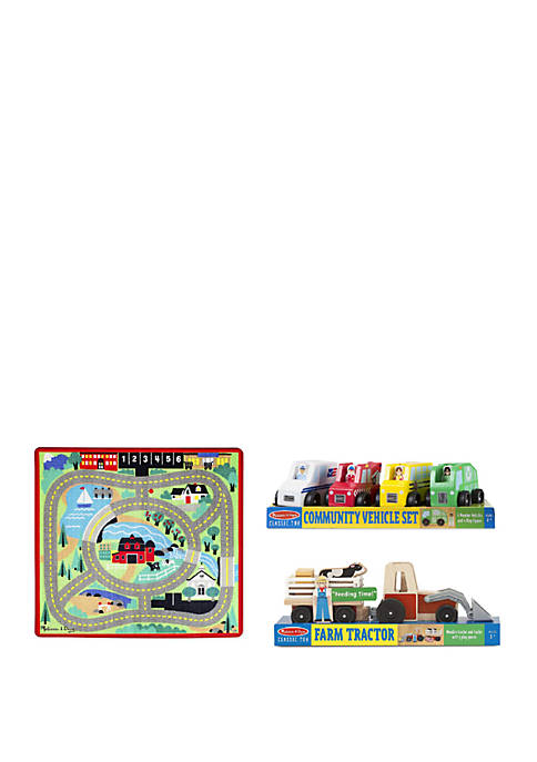 Melissa & Doug® Around the Town Road Rug