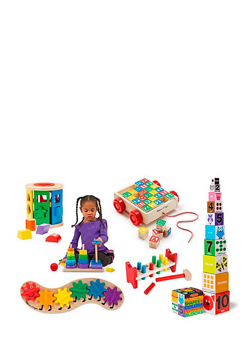 Melissa & Doug® Lets Play Classic Toys Bundle