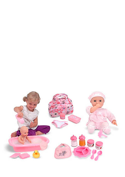 Melissa & Doug® Lets Play Dolls Bundle