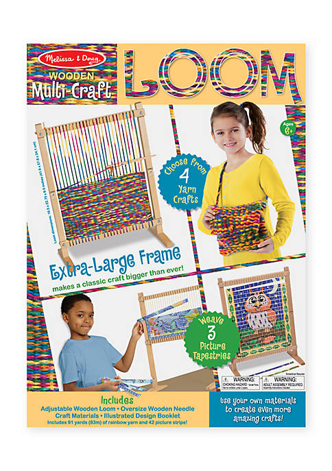 Melissa & Doug® Multi Craft Weaving Loom
