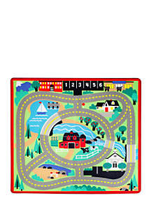 Round Town Road Rug-Online Only