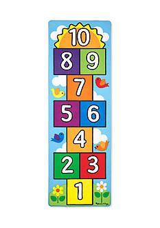 Melissa & Doug® Hop And Count Hopscotch Rug