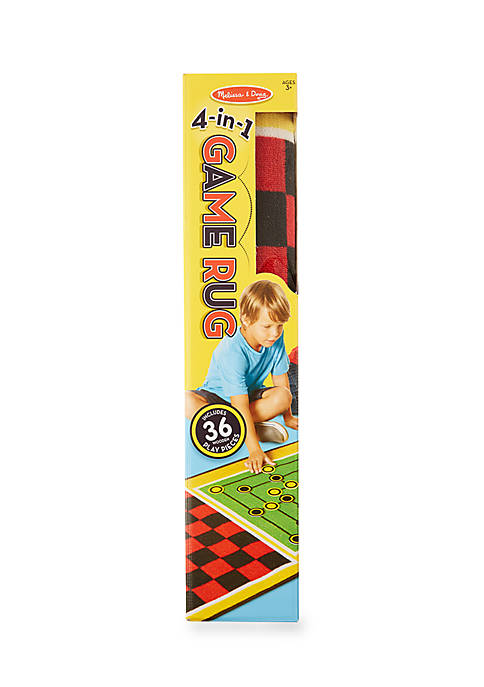 Melissa & Doug® 4 in 1 Game Rug