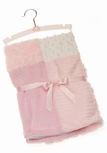 Pink Patchwork Blanket