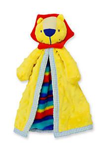 Nursery Rhyme Plush Lion Security Blanket Belk