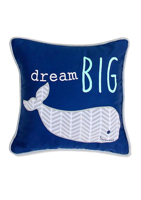 Infant Boys Landon Whale Pillow
