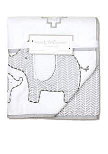 Elephant Reversible Quilt