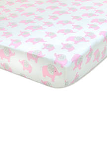 Infant Girls Elodie Fitted Crib Sheet