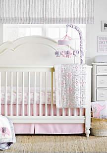 Infant Girls Elodie 4-Piece Crib Bedding Set