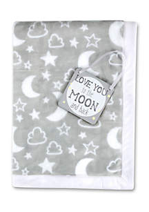 Baby 'Moon And Back' Blanket