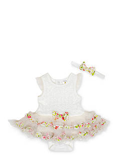Nursery Rhyme® Floral Lace Trim TuTu