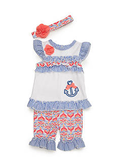 Nursery Rhyme® 3-Piece Floral Anchor Set