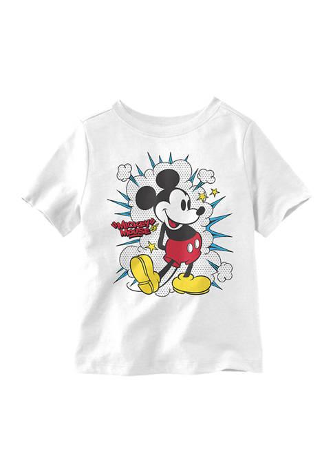 Disney® Mickey Toddler Boys 90s Mickey Pop T-Shirt