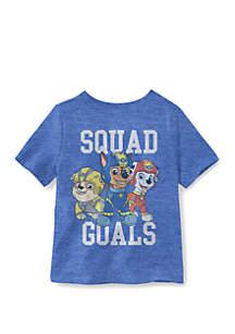 Well Worn Toddler Boys Squad Goals Paw Patrol T-Shirt