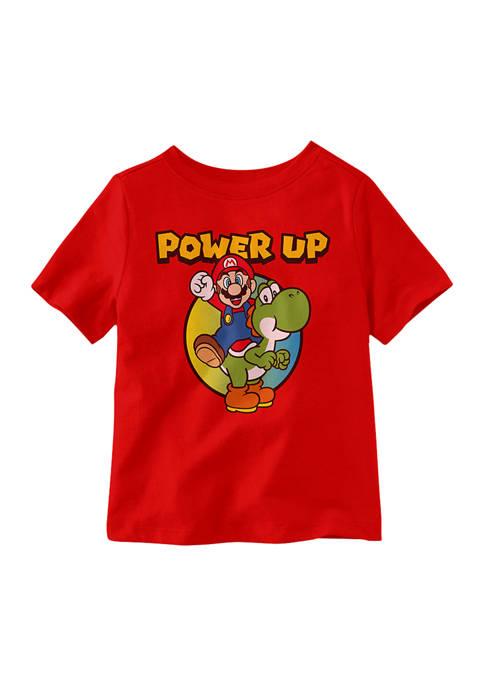 Nintendo Toddler Boys Yoshi Power Short Sleeve T-Shirt