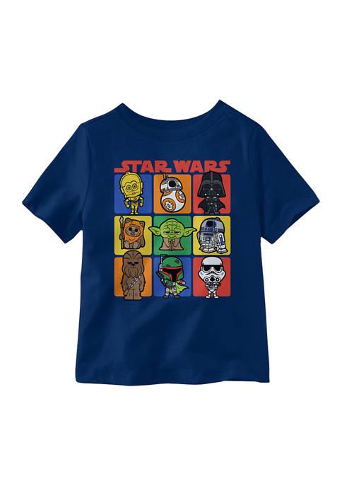 Star Wars® Toddler Boys Star Wars Short Sleeve