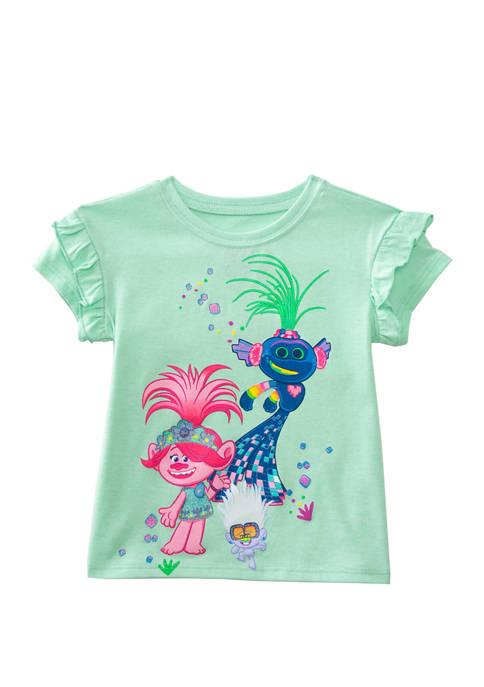 DreamWorks Trolls™ Toddler Girls Short Sleeve Trollex Party