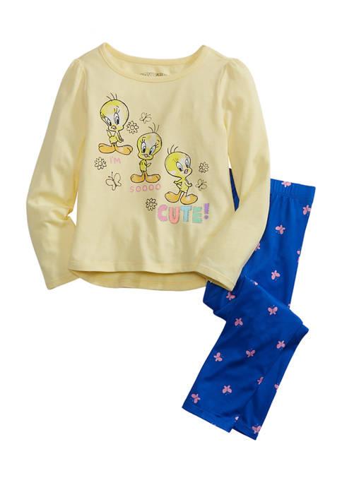 Toddler Girls Tweety Bird Set